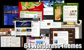 Thumbnail 64 Awesome WordPress Themes