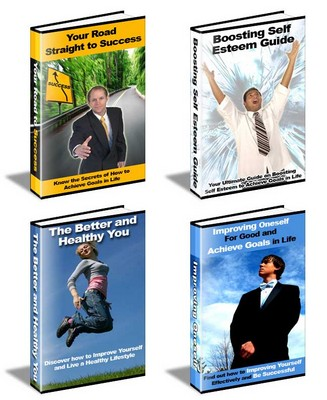 Product picture Four Self Improvement Guides (PLR)