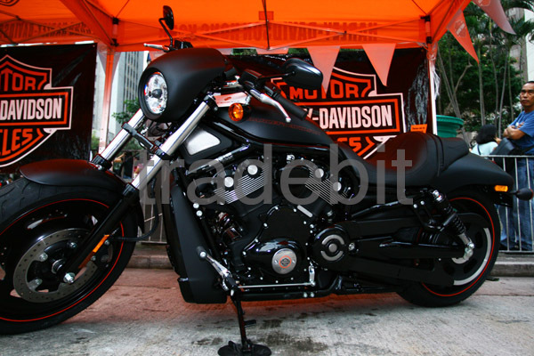 Product picture Harley Davidson Matte Black Motorcycle