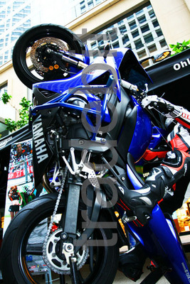 Product picture Yamaha Blue Tilted Sports Bike